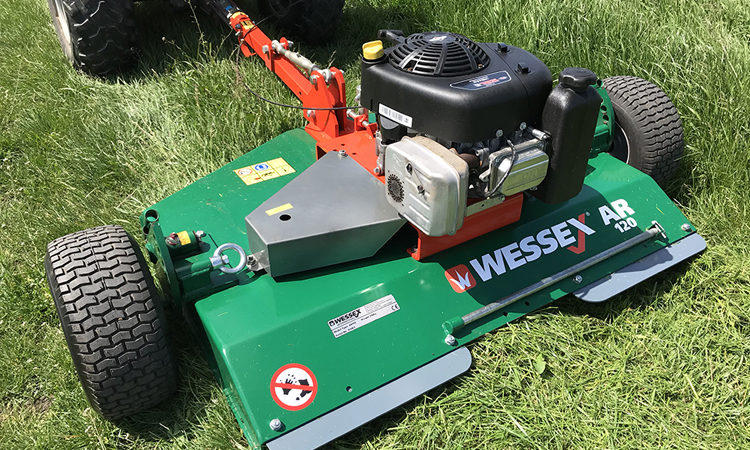 Wessex AR120 Rotary Mower Topper
