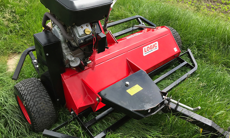 Logic MFG320 Flail Mower - Axle Quads