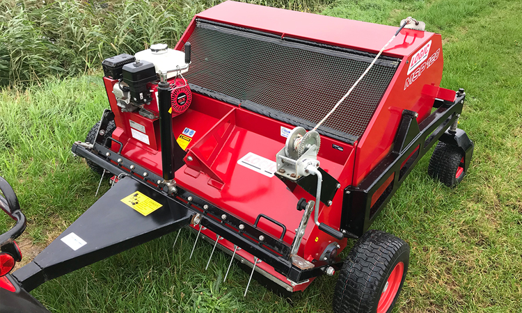 Logic MSP120 Pro Sweep Paddock Cleaner