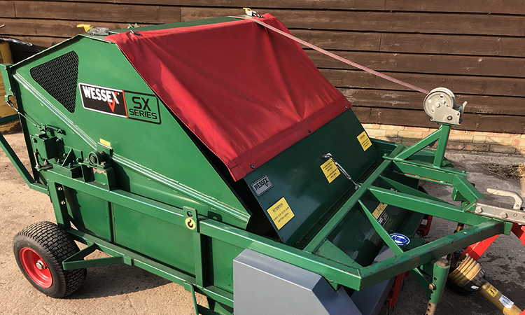 Wessex PTO SX120 Paddock Sweeper