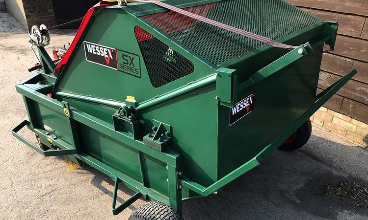 Wessex PTO SX120 Paddock Sweeper Cleaner