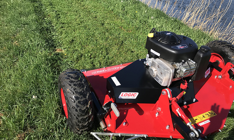 Logic TRM120 Rotary Topper Mower - Axle Quads