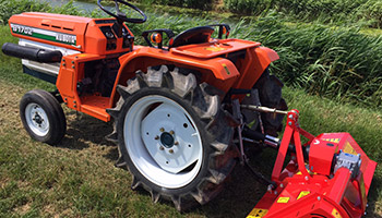 Compact tractors available at Axle Quads
