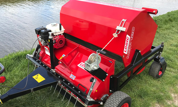 Used Logic Paddock Cleaner Sweeper