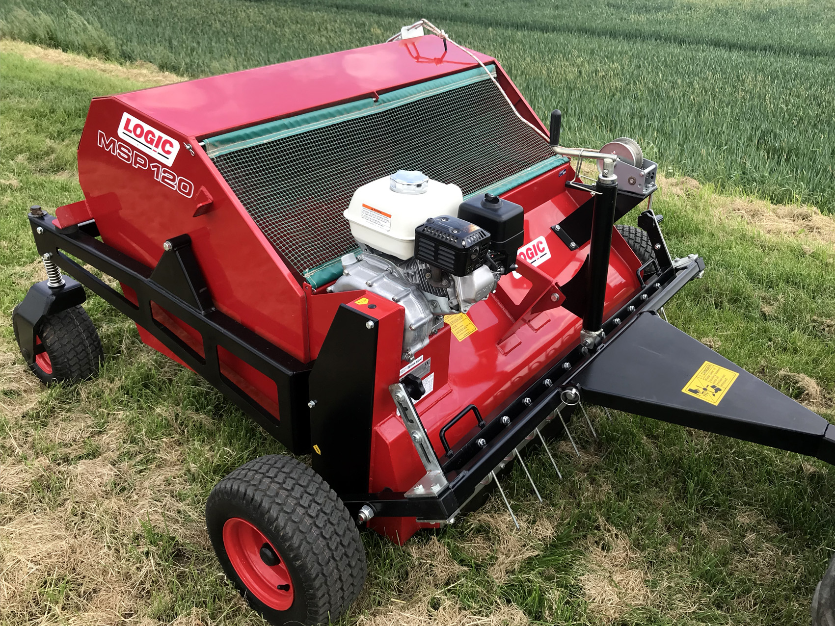 LOGIC MSP120WT PRO-SWEEP SWEEPER COLLECTOR